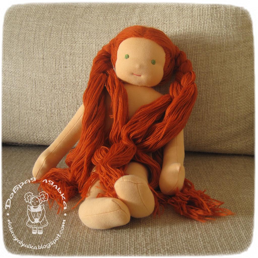 Вальдорфская кукла для девочки