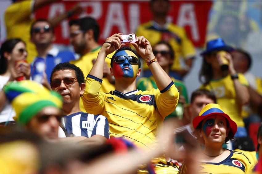 (11)BRASIL-BRASILIA-MUNDIAL 2014-COLOMBIA VS COTE D IVOIRE