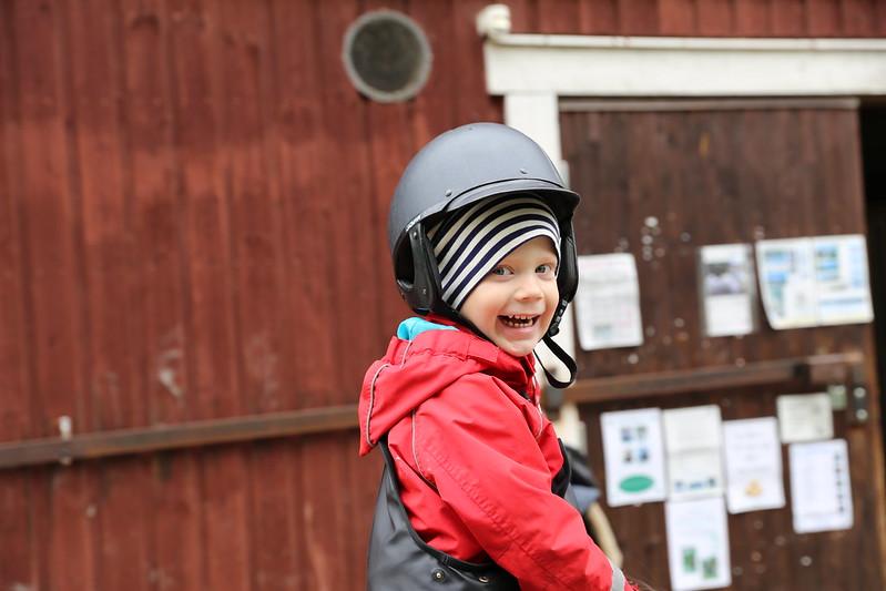 Besök på Eolhälls 4H-gård