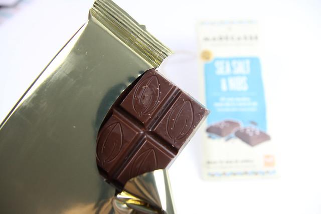 Sea Salt & Nibs chocolate