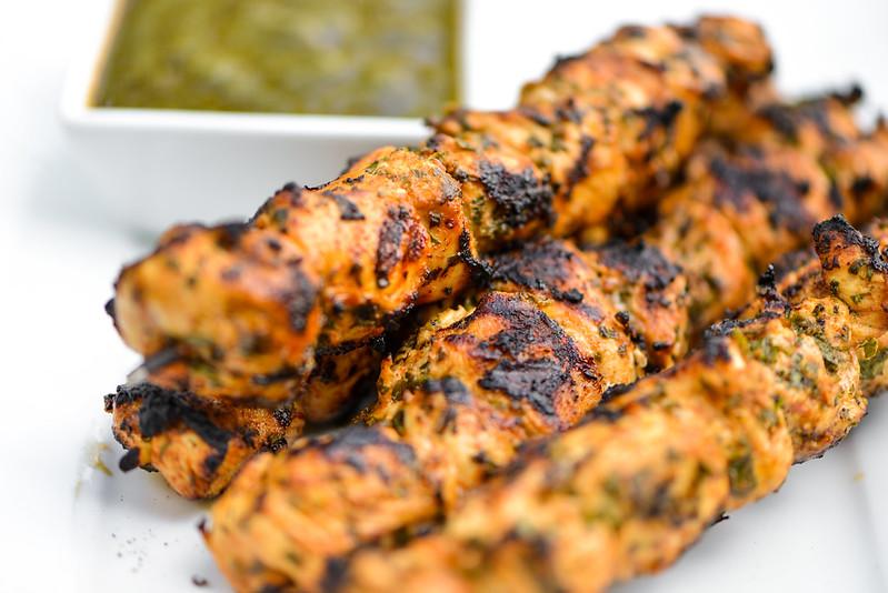 Moroccan Chicken Brouchettes