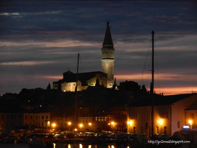 Ровинь, Хорватия.Собор Святой Евфимии
