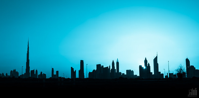 A Part of Dubai Skyline