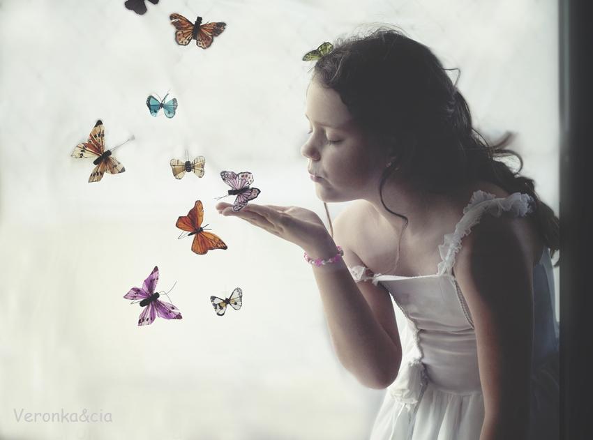 Beso de mariposa