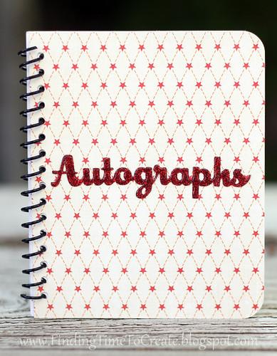 autograph book_cream