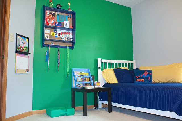 LEGO themed bedroom
