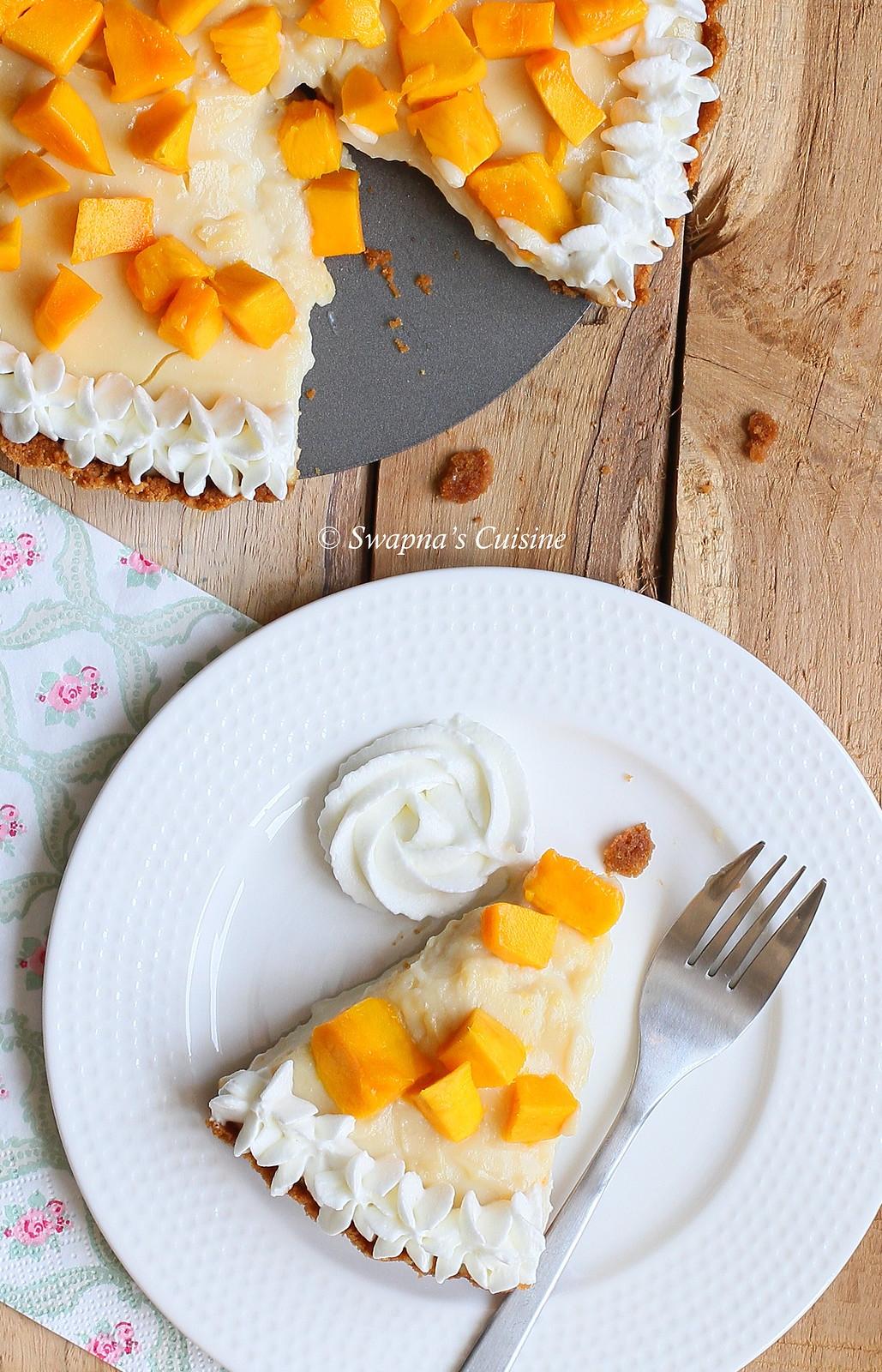 Mango Tart Recipe