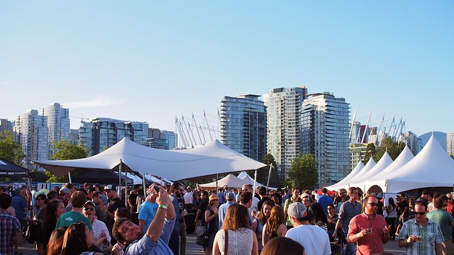 Vancouver Craft Beer Week 2014 | Olympic Village Event Grounds