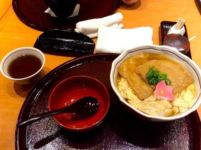 Yuba udon Kitsune at Mimiu Shibuya