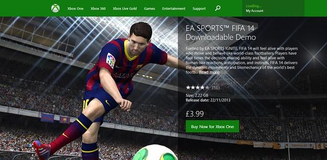 EA FIFA Demo