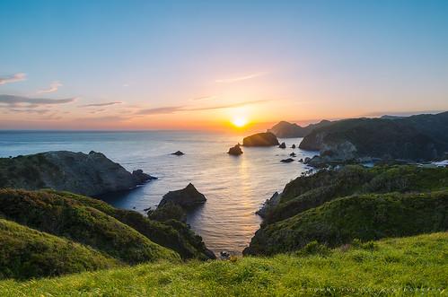 Sunset at Cape OkuIrou [Explore]