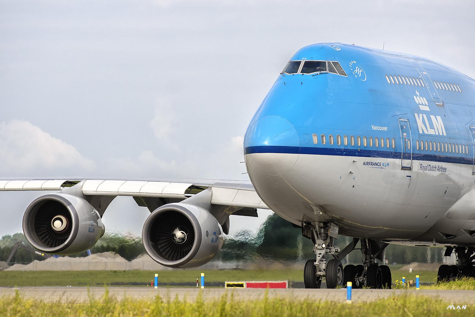 KLM 747-400 Vancouver EHAM