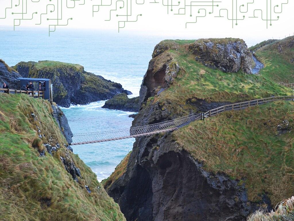 Passeio imperdível na Irlanda do Norte: Carrick a Rede