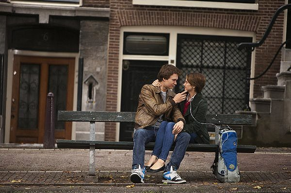 Ansel Elgort and Shailene Woodley are collateral damage in THE FAULT IN OUR STARS.