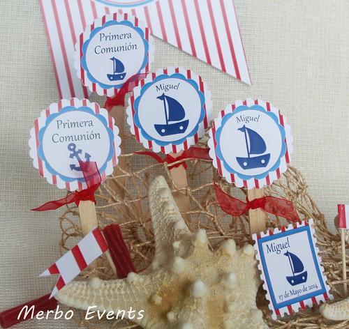 Toppers Comunión marinera Merbo Events