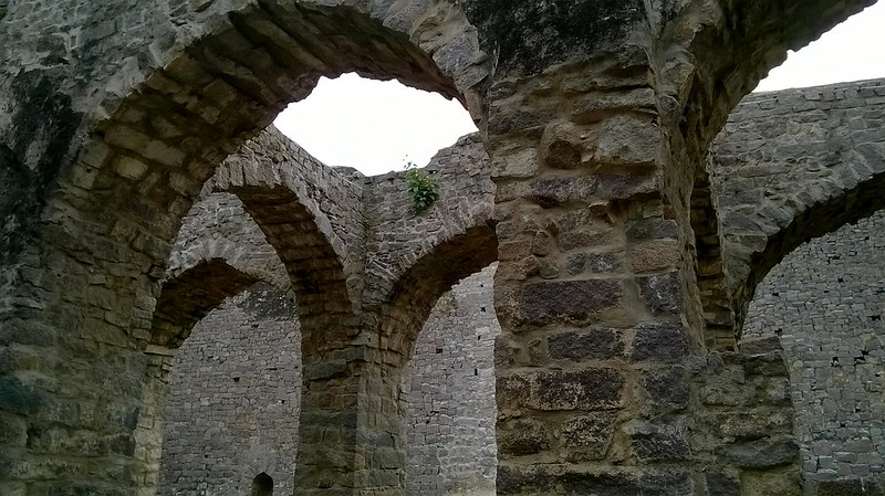Golconda Fort-Arches