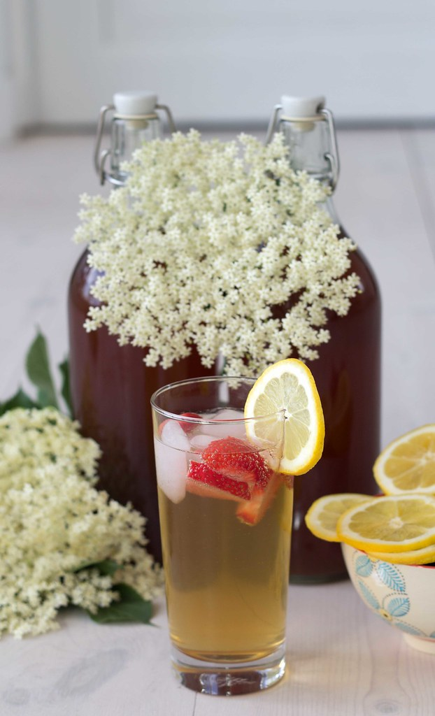 Recipe for Homemade Elderflower Juice