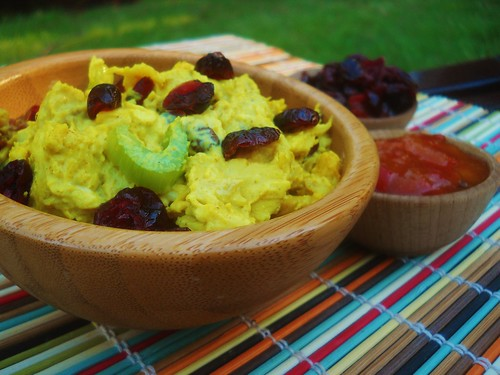 Curried Chutney Chicken Salad