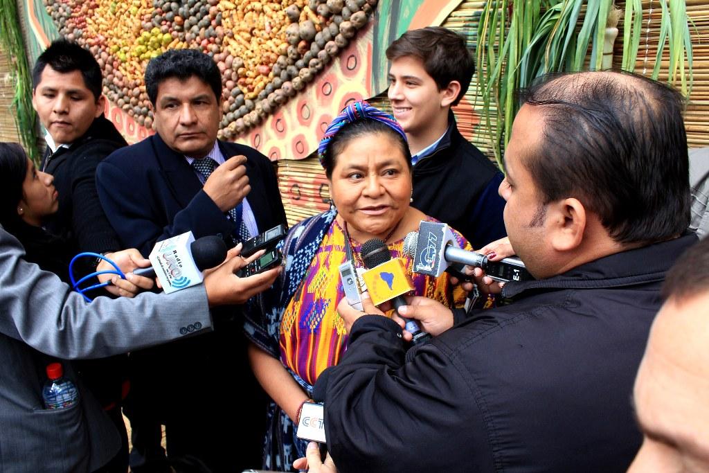 Ригоберта Менчу Тум (Гватемала)