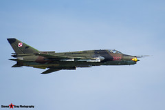3612 - 37612 - Polish Air Force - Sukhoi SU-22M4 Fitter K - 140712 - Fairford 2014 - Steven Gray - IMG_4252