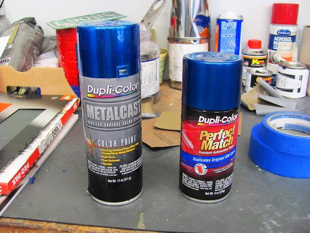 Dupli Color Paint Choices