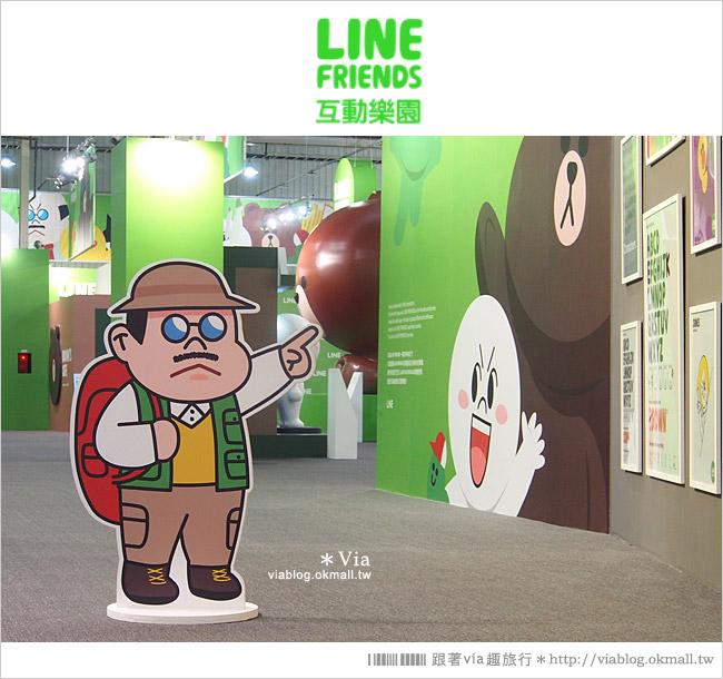 【台中line展2014】LINE台中展開幕囉!趕快來去LINE FRIENDS互動樂園玩耍去!(圖爆多)35