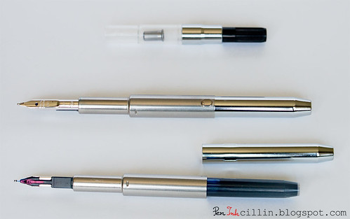 Pilot VP nib unit with converter
