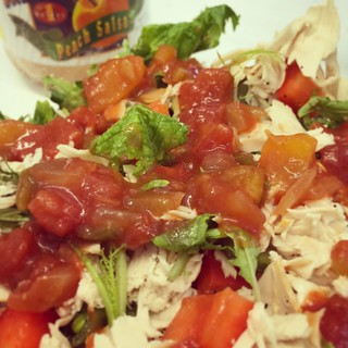 Turkey Salsa Salad