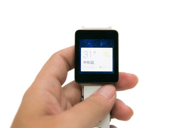 [Wear] Google Wear 全新智慧手表 – LG G Watch 開箱介紹(白金款)@3C 達人廖阿輝