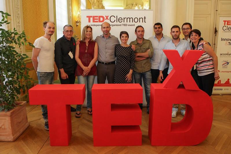 Les Speakers et leur Coachs à TEDxClermont 2014