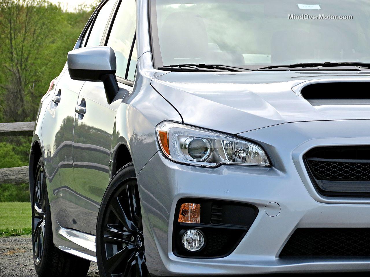 2015 Subaru WRX head lights