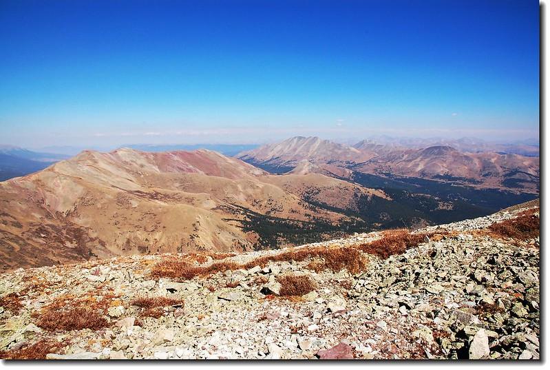 Bald Mountain (M) Looking NE from Silverheels