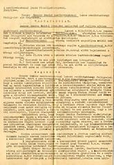 VI/7.f. Gáspár Sándor, mezőkovácsházi lakos, reformárus szabósegéd rendőrhatósági felügyelet alá helyezése - véghatározat
