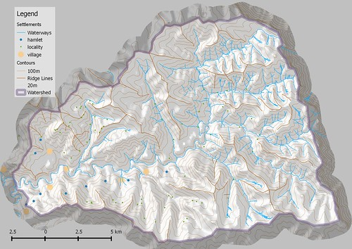 Lesotho Watershed overview