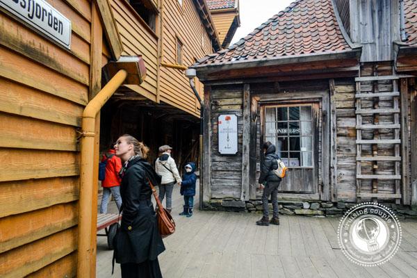 Inside the Bryggen, Bergen