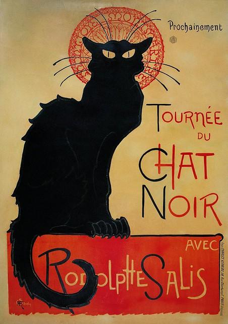 La Tournée du Chat Noir by Théophile Steinlen, 1896