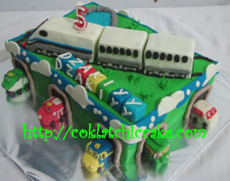 Kue ulang tahun chuggington dan dan kereta indonesia