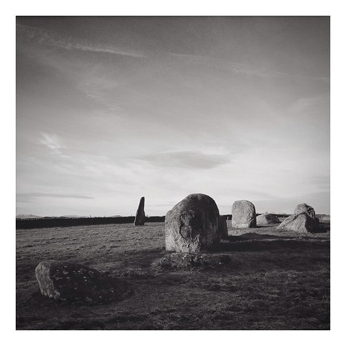Long Meg & Her Daughters, Little Salkeld, Cumbria