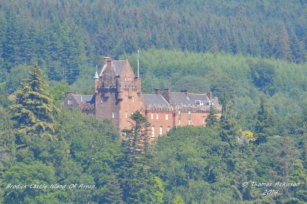 Brodick Castle, Island Of Arran Scotland