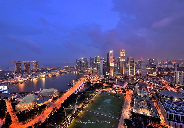 05Jul2014~Marina Bay Blue Hour (Re-worked)