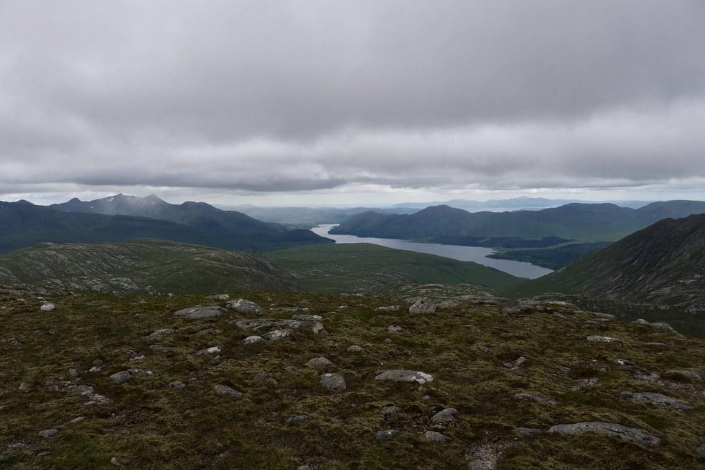 Ben Cruachan and Loch Etive from Beinn nan Aighenan