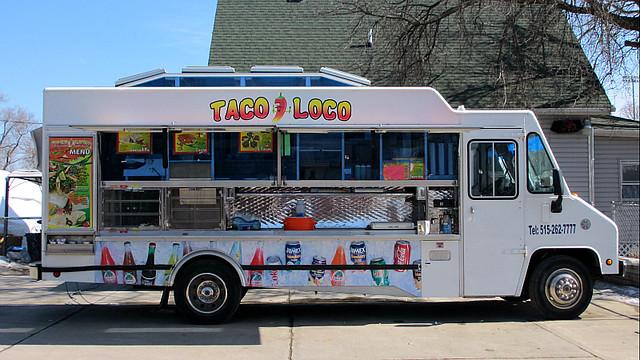 Taco Loco Taco Truck in Des Moines, Iowa