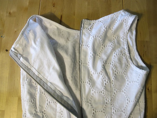 Eyelet Peplum Top & Thurlow Shorts made with Mood Fabrics