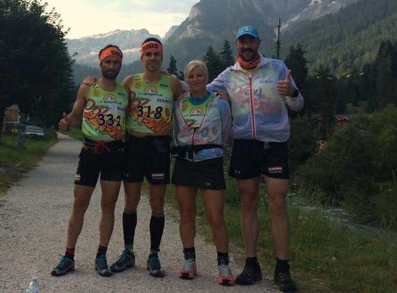 Η Ελληνική ομάδα στον Dolomites Skyrace 2014 !