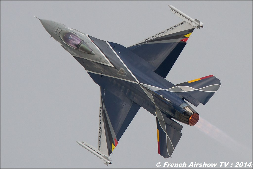 Belgian F16 Solo Display Team 2014 , MNA 133 Nancy 2014