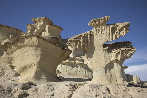 Erosiones de Bolnuevo, Mazarrón
