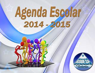 agenda escolar 2014 - 2015