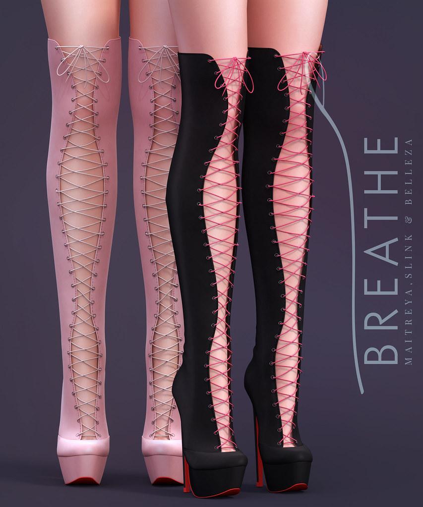 [BREATHE]-Kyle Boots - SecondLifeHub.com