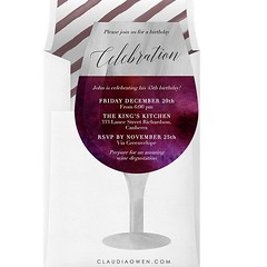 Any reason is a good reason to drink wine :wine_glass:#partytime #wine #invitation