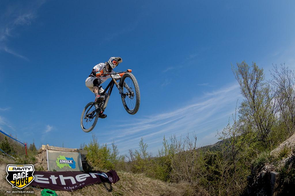 Prove libere del Gravity Race 2017 a San Lorenzo di Treia